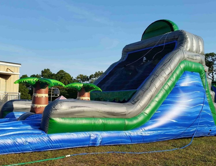 Blue Crush Slide Section 17 Obstacle Slide