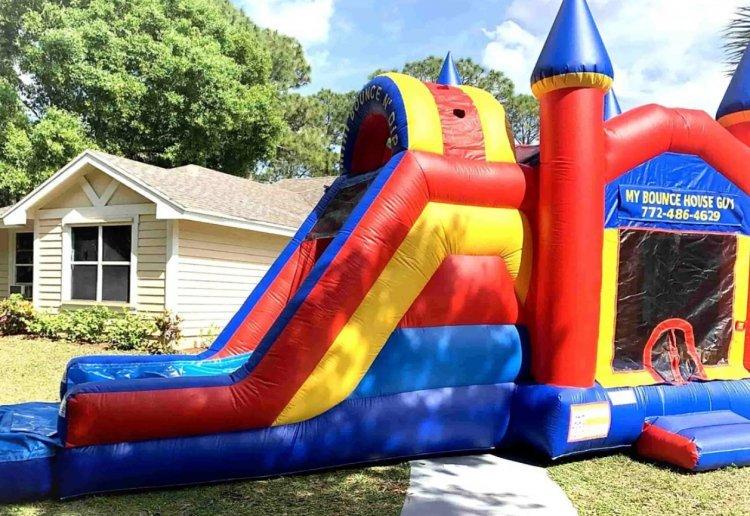 Bounce N Dip Castle Combo