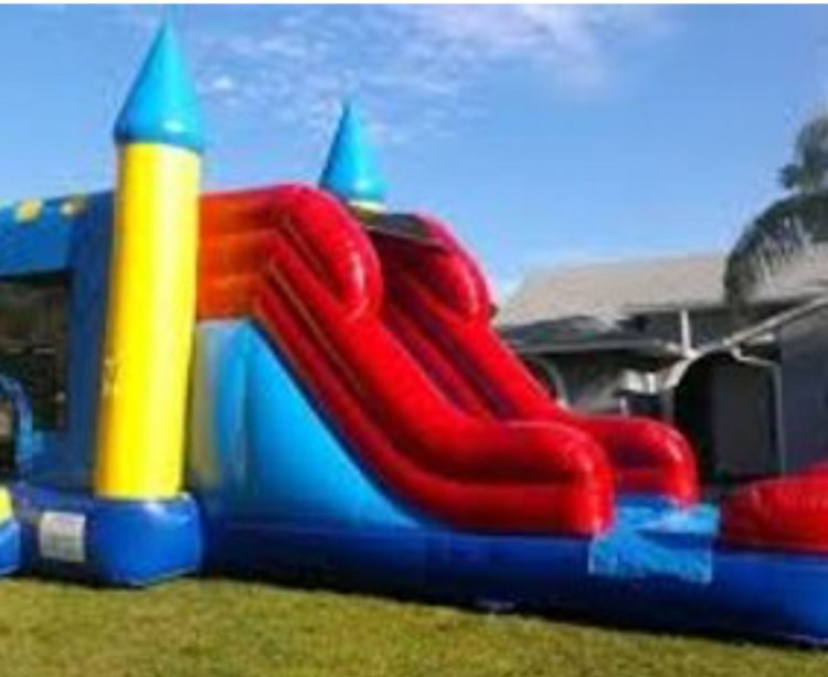 4 in 1 Castle Jump n Slide
