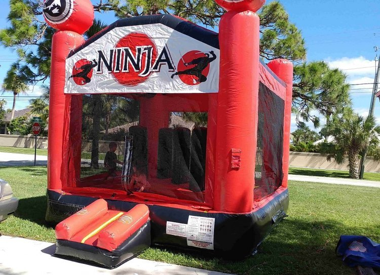 Ninja Jump (2 in 1 with obstacles)